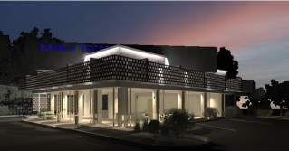 Bank of Tucson - Night Render (Overlay Step 3)