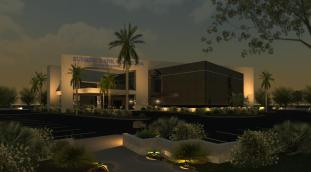 RENDERING - MAIN EXTERIOR Night